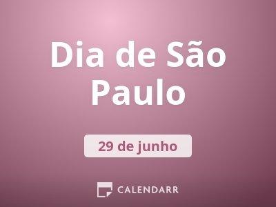 Dia de São Paulo