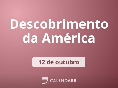 Descobrimento da América