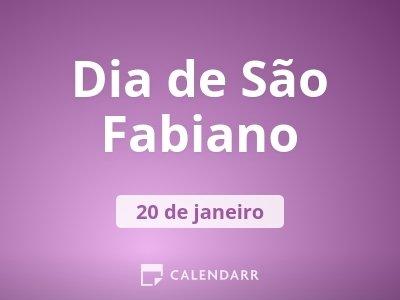 Dia de São Fabiano