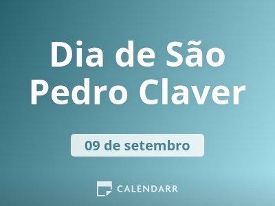 Dia de São Pedro Claver