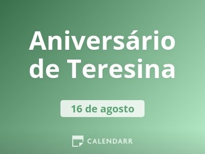 Aniversário de Teresina