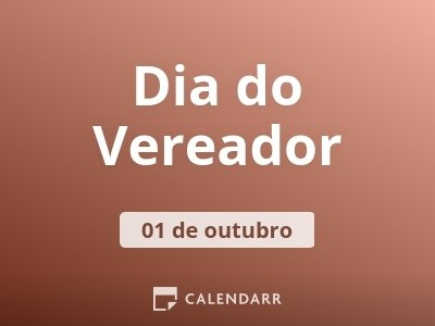 Dia do Vereador