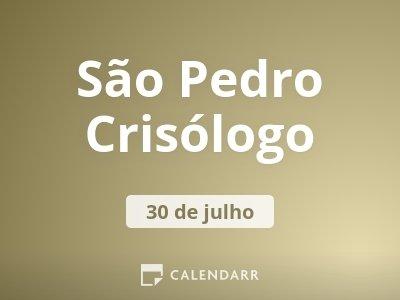 São Pedro Crisólogo
