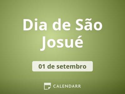 Dia de São Josué