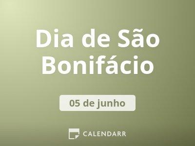 Dia de São Bonifácio