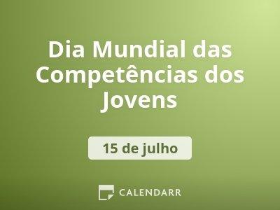Dia Mundial das Competências dos Jovens