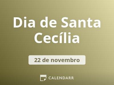 Dia de Santa Cecília