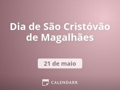 Dia de São Cristóvão de Magalhães