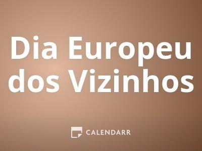 Dia Europeu dos Vizinhos