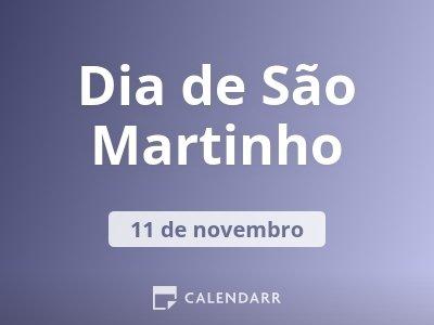 Dia de São Martinho