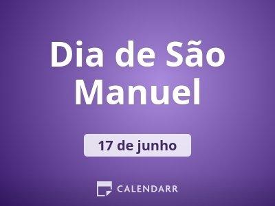 Dia de São Manuel