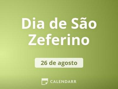 Dia de São Zeferino