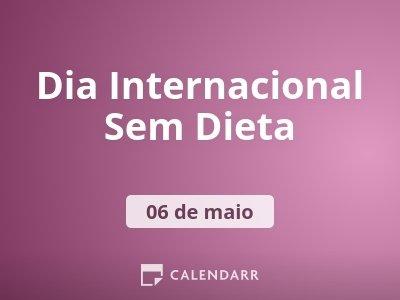 Dia Internacional Sem Dieta