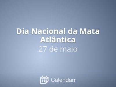 Dia Nacional da Mata Atlântica