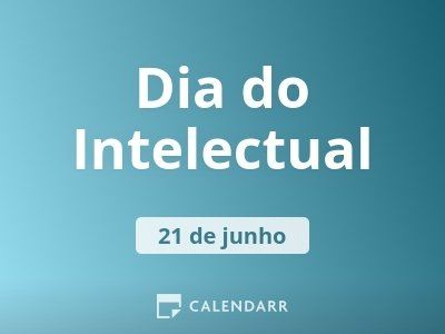 Dia do Intelectual