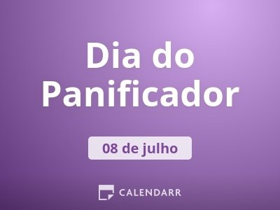 Dia do Panificador
