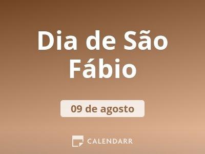 Dia de São Fábio