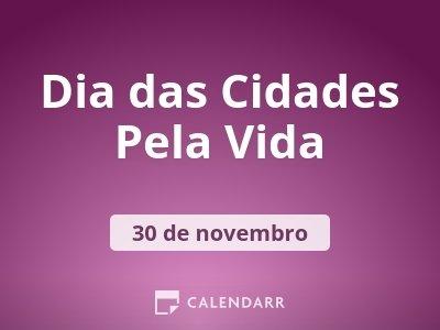 Dia das Cidades Pela Vida
