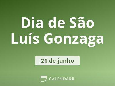 Dia de São Luís Gonzaga