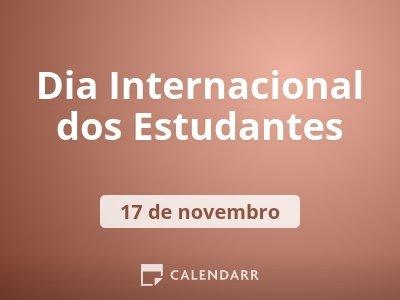 Dia Internacional dos Estudantes