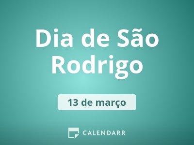 Dia de São Rodrigo