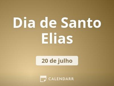 Dia de Santo Elias