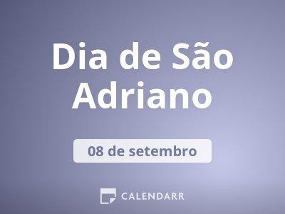 Dia de São Adriano