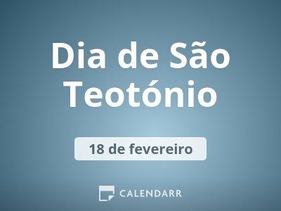 Dia de São Teotónio
