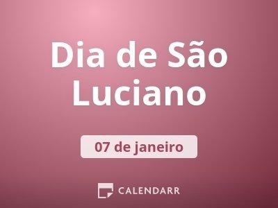 Dia de São Luciano