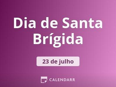 Dia de Santa Brígida