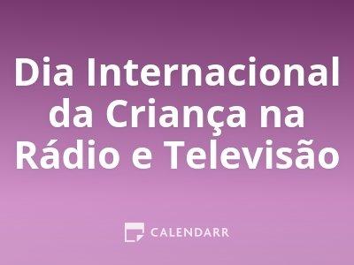 Dia Internacional da Criança na Rádio e Televisão