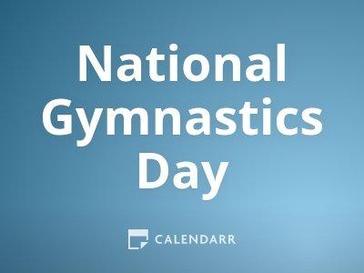 National Gymnastics Day