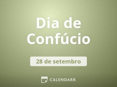 Dia de Confúcio