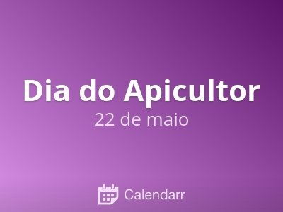 Dia do Apicultor