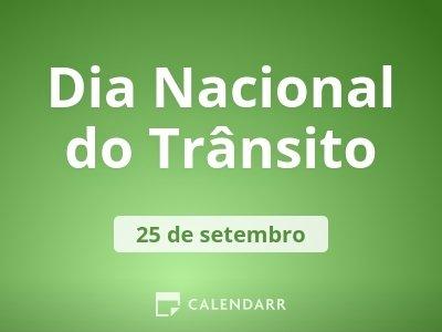 Dia Nacional do Trânsito