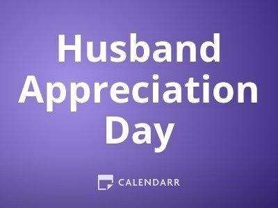 Husband Appreciation Day