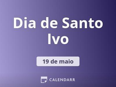 Dia de Santo Ivo