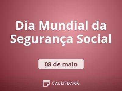 Dia Mundial da Segurança Social