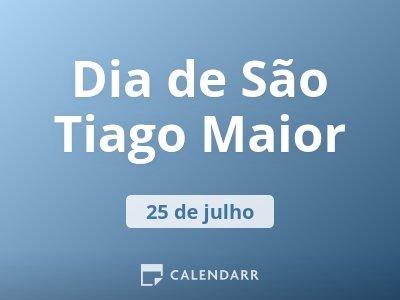 Dia de São Tiago Maior