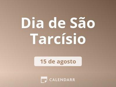 Dia de São Tarcísio