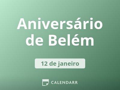 Aniversário de Belém