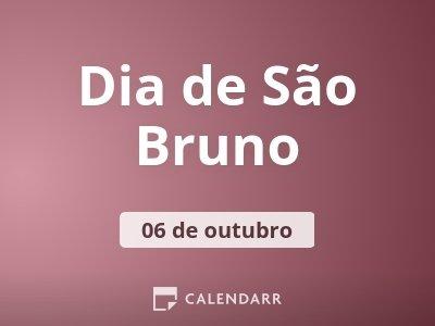 Dia de São Bruno