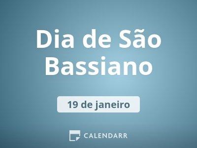 Dia de São Bassiano