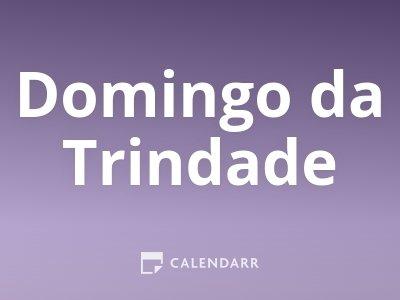 Domingo da Trindade
