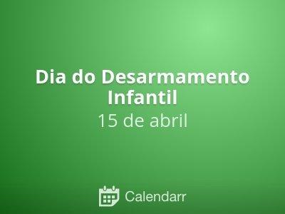 Dia do Desarmamento Infantil