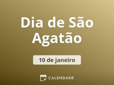 Dia de São Agatão