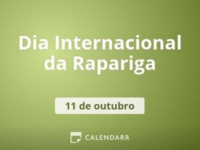 Dia Internacional da Rapariga