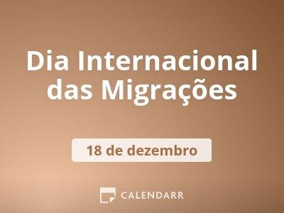 Dia Internacional das Migrações