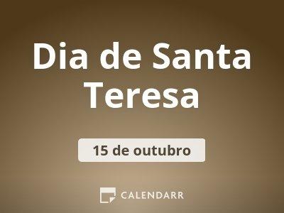 Dia de Santa Teresa