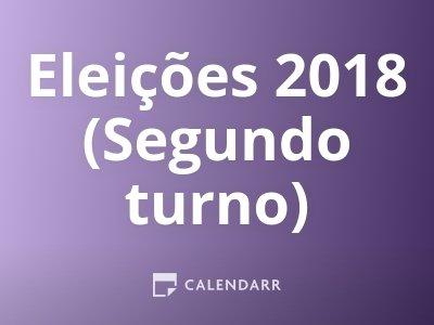 Eleições 2018 (Segundo turno)